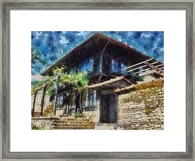 Revival Old House Framed Print by Georgi Dimitrov