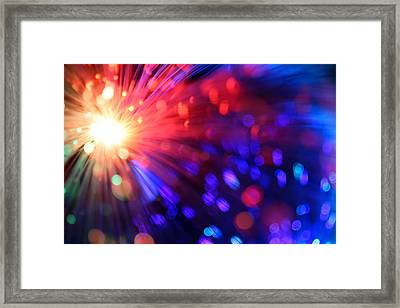 Revolution Framed Print by Dazzle Zazz