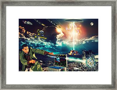 Revolution Framed Print