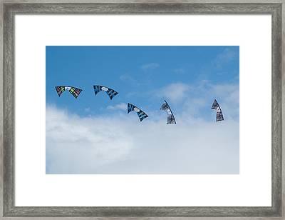 Revolution Kites At The Windscape Kite Festival 2011 Framed Print