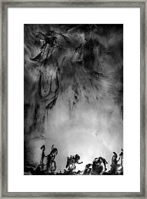 Revolution Framed Print by Petros Yiannakas