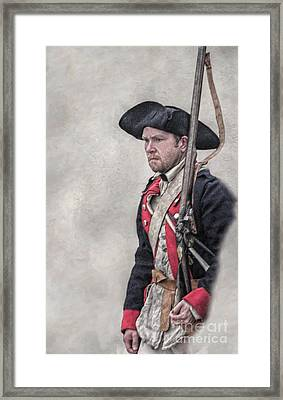 Revolutionary War American Soldier Two Framed Print by Randy Steele