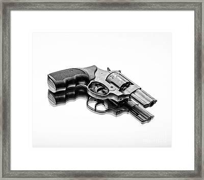 Revolver Framed Print by Edward Fielding