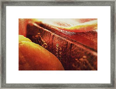 Reworking The Final Chapter Framed Print by Connie Handscomb