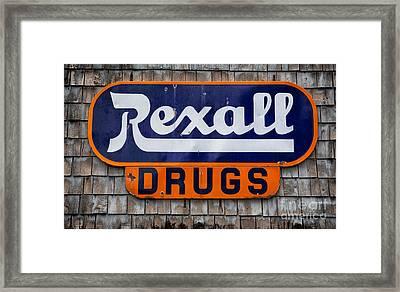 Rexall Drugs Framed Print