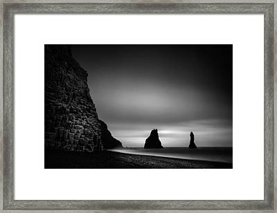 Reynisfjara Framed Print by Ian Good