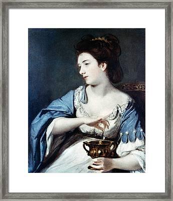 Reynolds Cleopatra Framed Print by Granger