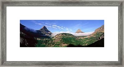 Reynolds Mountain, Glacier National Framed Print
