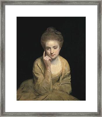 Reynolds, Sir Joshua 1723-1792. Studio Framed Print by Everett