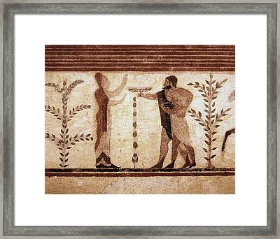 Reynoldssir Joshua 1723-1792. Tomb Framed Print by Everett