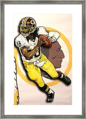RG3 Framed Print by Anthony Young