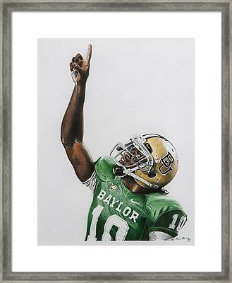 Rgiii Framed Print by Brian Broadway