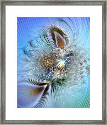 Rhapsodic Rendezvous Framed Print