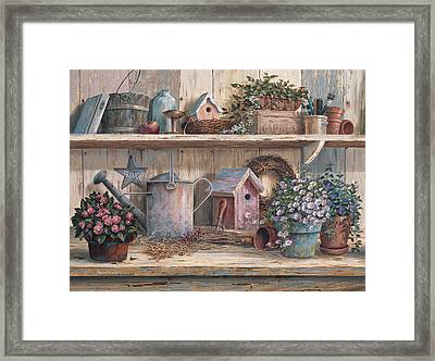 Rhapsody In Rose Framed Print