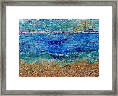 Rhapsody On The Sea  Framed Print