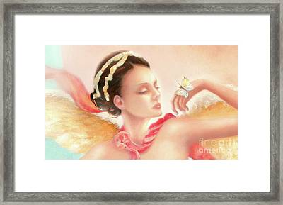 Framed Print featuring the painting Rhapsody S.e. Print by Michael Rock