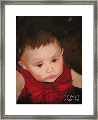 Rhemy Framed Print by Sharon Burger