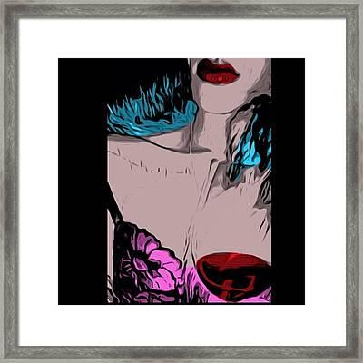 #rhianna #badgirlriri @badgirlriri Framed Print