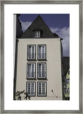Rhine Hotel St Martin Cologne Framed Print by Teresa Mucha
