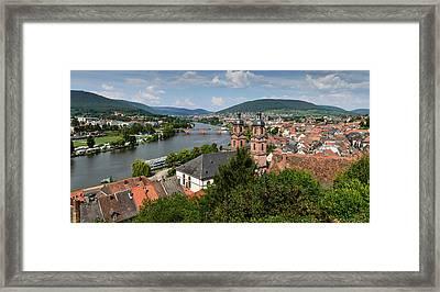 Rhine River Framed Print