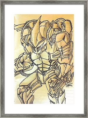 Rhino In Marvel Comics Framed Print by Rohit Bhattacharya