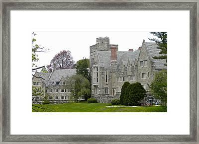 Rhoads Hall Bryn Mawr College Framed Print