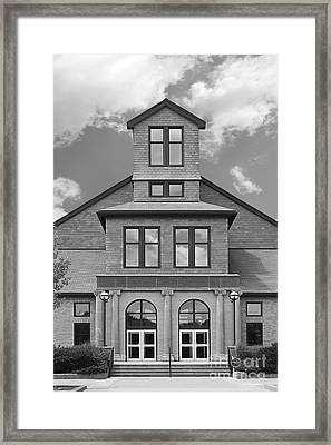 Rhode Island College Nazarian Center Framed Print by University Icons