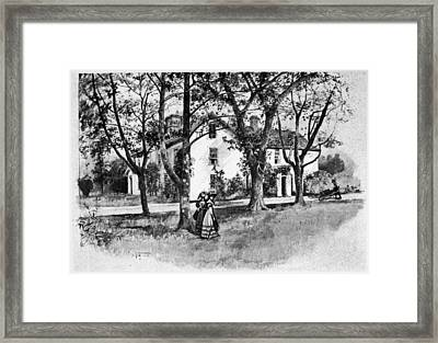 Rhode Island Greene House Framed Print