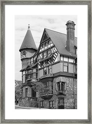 Rhode Island School Of Design Carr Haus Framed Print by University Icons