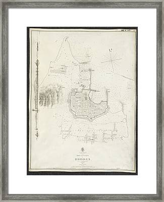 Rhodes Framed Print by British Library