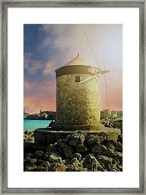 Rhodes Framed Print
