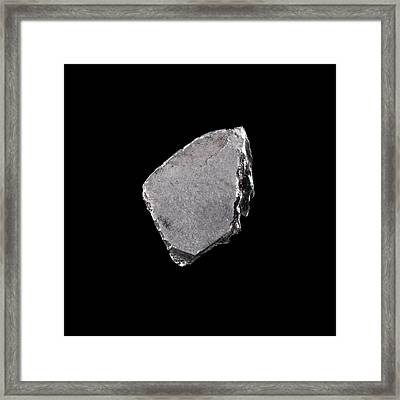 Rhodium Framed Print by Science Photo Library