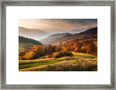 Rhodopean Landscape Framed Print