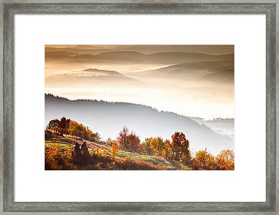 Rhodopean Morning Framed Print