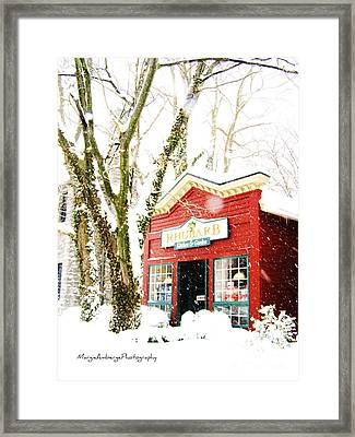 Rhubarb Framed Print by Margie Amberge