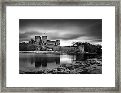 Rhuddlan Castle Framed Print by Dave Bowman
