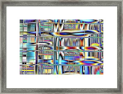 Rhyme And Reason Framed Print