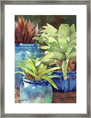 Rhythm And Blues Framed Print by Kris Parins