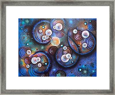Rhythm And Sound Framed Print