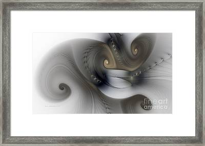 Rhythm And Swing Framed Print by Karin Kuhlmann