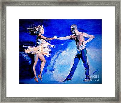 Rhythm Is Going To Get You 2 Framed Print