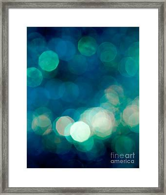 Rhythm N Blues Framed Print by Jan Bickerton