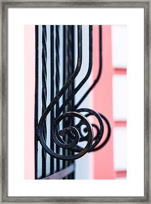 Rhythm Of Architecture - Vertical Format Framed Print by Alexander Senin