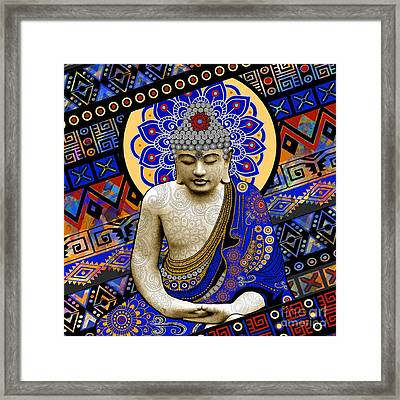 Rhythm Of My Mind Framed Print