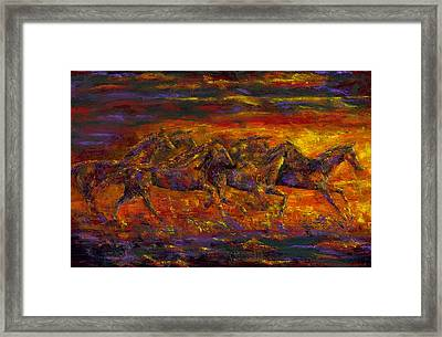 Rhythm Of The West Framed Print