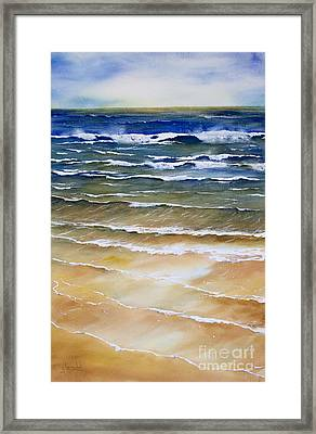 Rhythmic Calm Framed Print