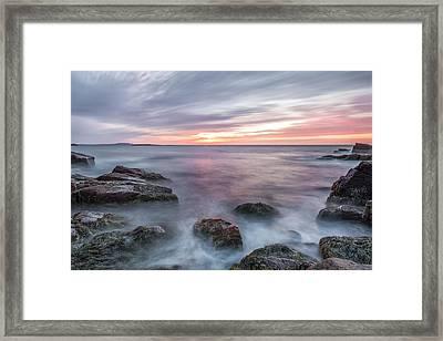 Rhythmic Dawn Framed Print by Jon Glaser