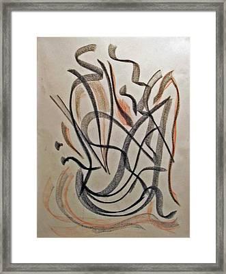 Rhythmic Interpretation  Framed Print by John Neumann