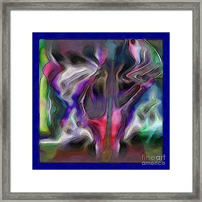 Rhythmic Vibes Framed Print