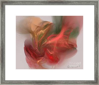 Rhythmical Dance Framed Print by Leona Arsenault